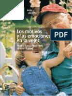 Los motivos y las emociones en la vejez; B. García