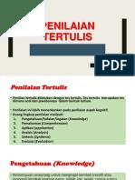 P6. Penilaian Tertulis (1)