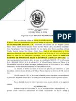 050814 Posibilidad de interponer demanda de nulidad fuera del lapso de caducidad Caso Pezquera Pezatun