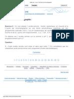 123bio.net - Cours - Exercices de Chromatographie Ex2