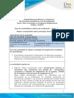 Guía de actividades y rúbrica de evaluación - Unidad 1 - Fase 1 - Elaborar mapas mentales sobre principios físicos en TC