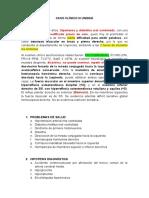 CASO CLINICO - III UNIDAD