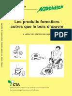 Van Andel Tinde - Les Produits Forestiers Autres Que Le Bois d'Oeuvre