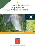 Guide pour le montage de projets de petite hydroélectricité