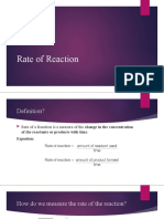Rate of Reaction PPT  2