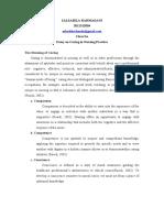 Essay on Caring in Nursing Practice_Salsabila Rahmadani_2011312004_3A