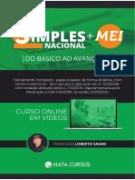 Simples Nacional e MEI _ Apostila Completa
