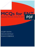 MCQs for ENT Specialists Revision Guide