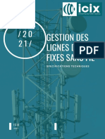 Icix Specs Techniques Gestion des Lignes FWA