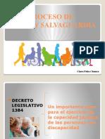 APOYO Y SALVAGUARDIA clase Clara Peña