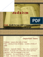 Judaism- Carel Faith M. Andres