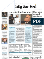 The Daily Tar Heel for February 23, 2011