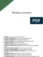imp windows commands