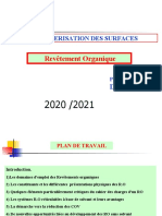 REVETEMENT ORGANIQUE