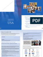 Hashoo Foundation USA Annual Report 2008 - 2009