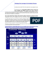A Customer Intimate Strategy