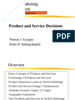 Chapter 11 Product Decision