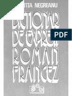 Dictionar de expresii roman francez