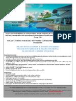 Job Advert 020821 - Island Host