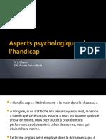 Aspects psychologiques de l'handicap