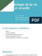 La psychologie de la vie génitale et sexuelle
