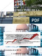 MICROSTRUCTURE DE LA BRVM