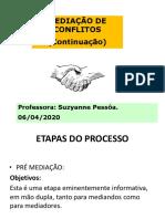 Aula 5 DIREITO UNINASSAU 7o Semestre Negociação, Mediação, Conciliação e Arbitragem 2020 1