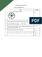 Soal Matematika (Tema 5) P3