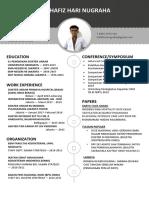 Berkas pendaftaran PPDS Hafiz Hari Nugraha