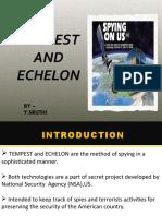 Tempest and echelon