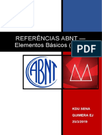 ABNT - Referências - Elementos Básicos (Livro)
