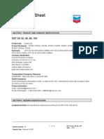 Chevron-GST-68-MSDS