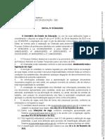 Edital nº 97-2021-SED - Chamada ACT 2021