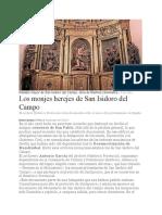Los monjes herejes de San Isidoro del Campo