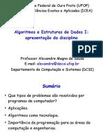Algoritmos - Problemas e Aplicações