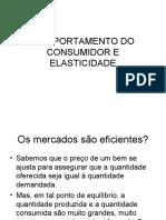 AULA 3 - COMPORTAMENTO DO CONSUMIDOR E ELASTICIDADE(1)