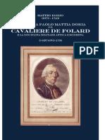 EGIZIO Matteo. Lettera a Paolo Mattia Doria Sul Cavaliere de Folard. 1735