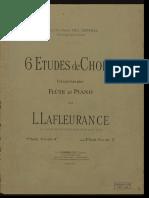 Chopin - 6 Studii Pentru Flaut Si Pian