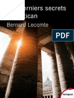 Les Derniers Secrets Du Vatican Bernard Lecomte