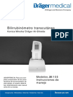 Jaundice JM103 Manual Usuario