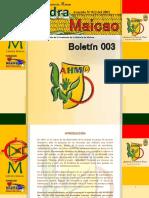 Catedra Maicao Boletin 001