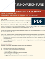 Botswana Innovation Fund - Commercial Landing Call for Proposal
