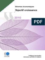 OECD - Reformes Economiques 2010_ Objectif Croissance-Organization for Economic Co-operation and Development (OECD) (2010)