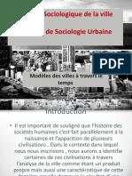 Cours Analyse Sociologique de La Ville Usthb Cours 2 (11!04!20) (1)