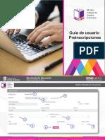 Guía de usuario preinscripciones SAID Edomex 2021-2022