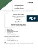 2. Model Test Paper 1 (Halus)