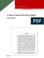 Is There an Islamist Alternative in Egypt-Feb.11-IAI