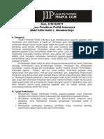 Pemikiran Politik - Silabus-PemPolInd(2010-2011)
