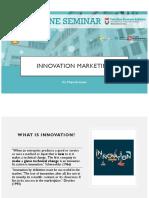 online seminar innovation mkt