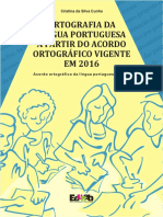 Cristina da Silva Cunha - Ortografia da Língua Portuguesa... - Eduneb, 2016